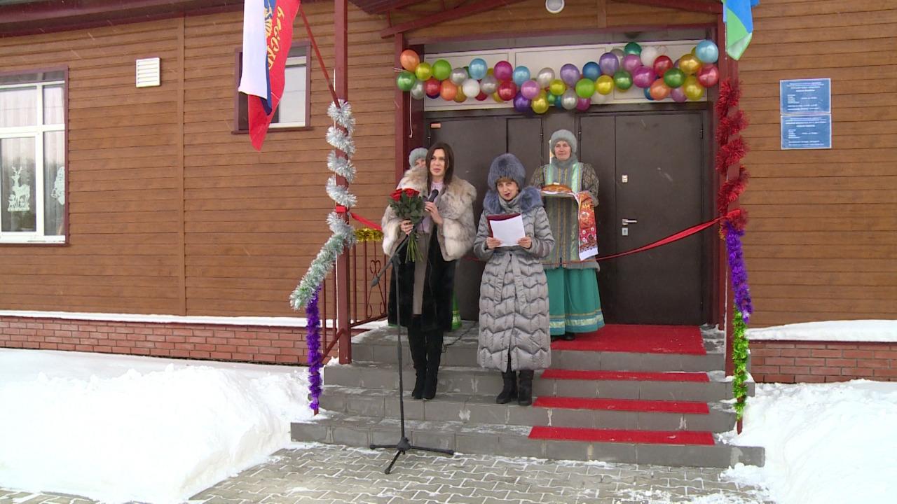 В Мицулёвке после капитального ремонта открылся сельский клуб