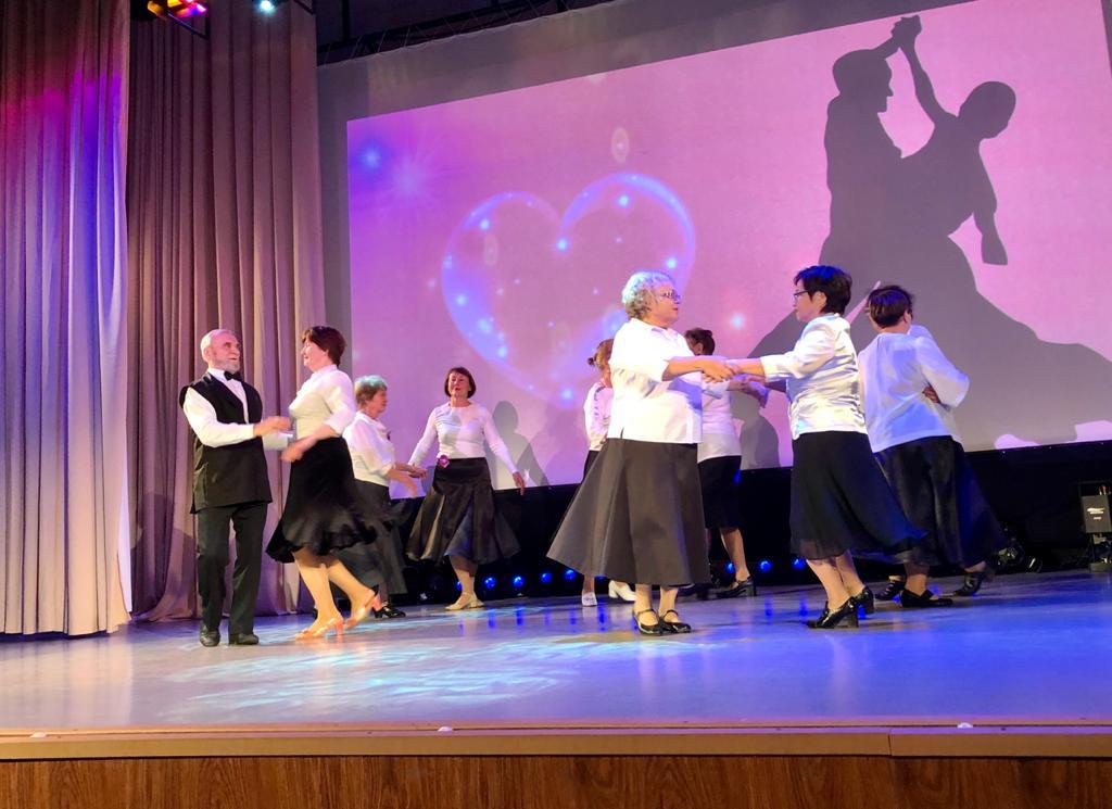 Концерт-презентация танцевальных коллективов 65+ прошел в Аниве