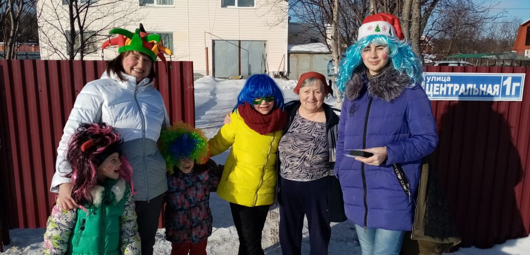 Рождественские гуляния прошли в Анивском районе